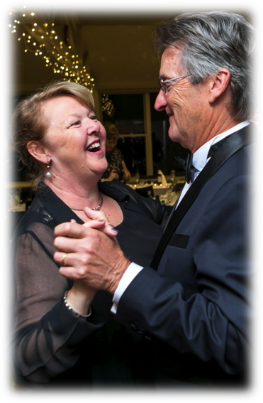 Image of Susan & David Wilson dancing - Bass HIll RSL Youth Club Ballroom Dancing
