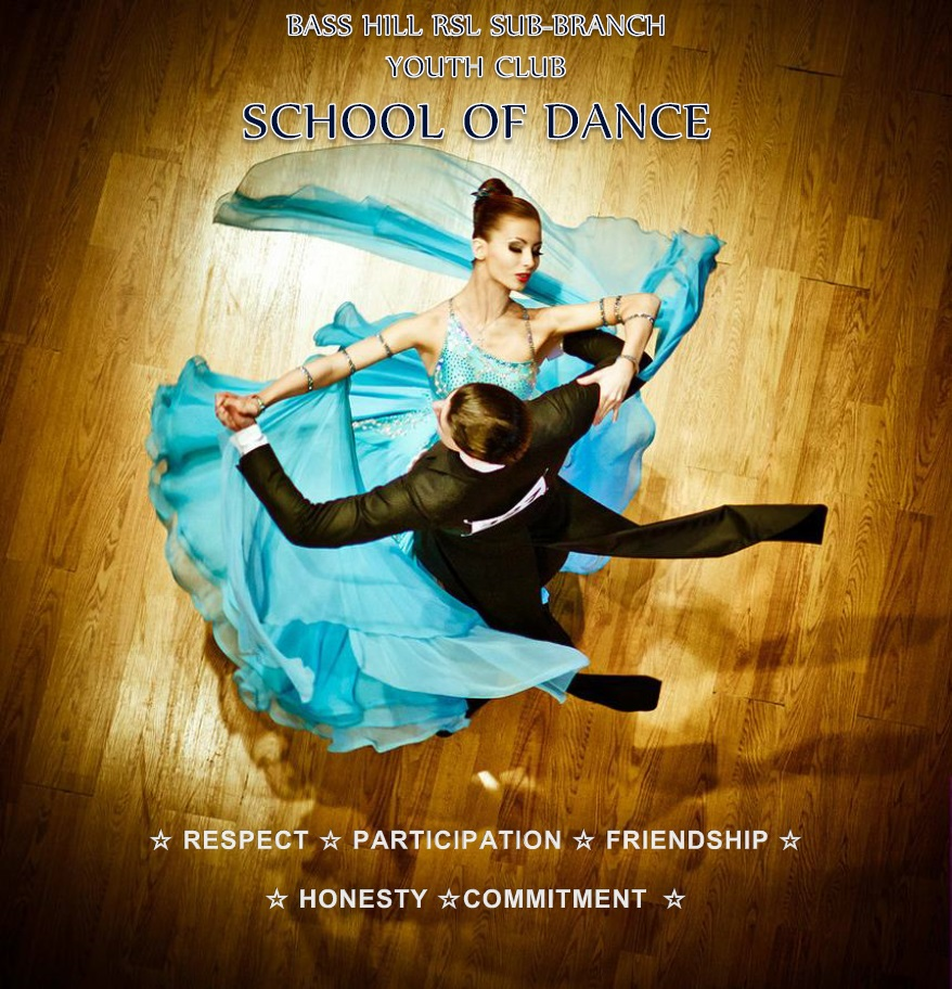 Youth Club School of Dance logo - Bass HIll RSL Sub-Branch