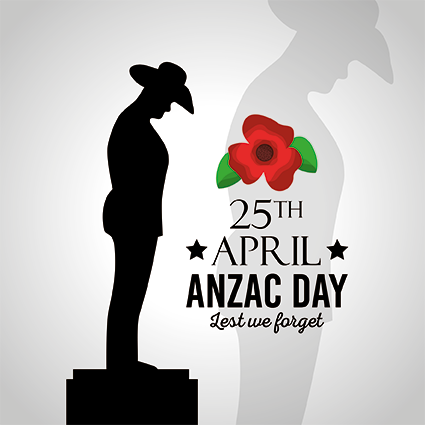 Stock image for ANZAC Day 25 April